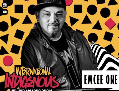 Emcee One Performing Live At The Indigenous Hip Hop Awards Red Carpet & Showcasing A Virtual Booth At Trade Show.